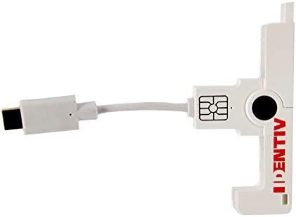 Identiv uTrust SmartFold SCR3500C Type C USB Lector de ...