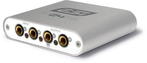 ESI AUDIO U24XL 24bit USBオーディオインターフェイスB0765TPZVJ