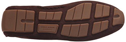 Cole Haan Men's Kelson Venetian Slip-On Loafer, Chestnut Suede, 7.5 M US