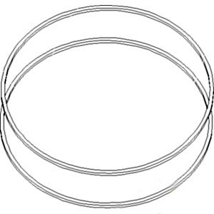 john deere washer brake disc assembly pack of 2 part no a t135749 John Deere L118 Lawn Tractor image unavailable