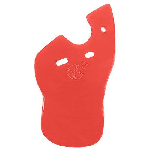 C-Flap Face Protector for Left Handed Batters Matte Scarlet ()