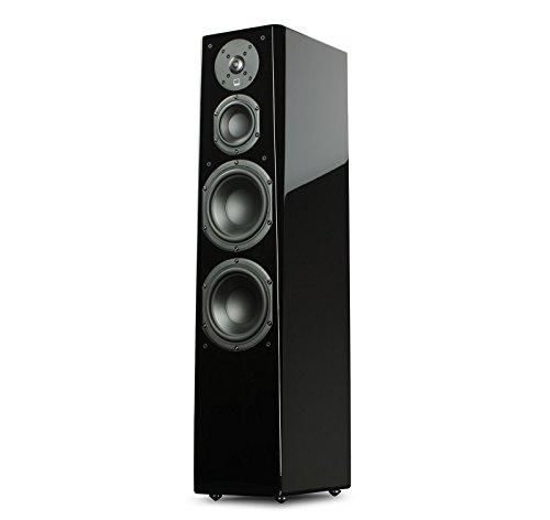SVS Prime Tower Speaker (Single) - Piano Gloss - Posts Black Piano
