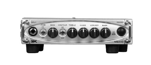 Gallien-Krueger MB200-200W Ultra Light Bass Amplifier (Gallien Krueger Amp Head)
