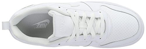 Nike Court Borough Low, Zapatillas de Baloncesto para Hombre Blanco (Blanco)