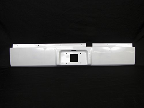 Painted Bright White Rear Steel Roll Pan 2002-2008 Ram 1500 / 2003-2009 Ram 2500
