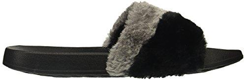Skechers Donna 2 ° Diapositiva Sandalo Scorrevole Da Viaggio Nero / Multi