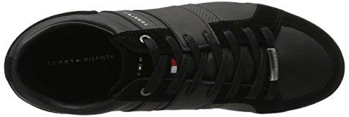 Tommy Hilfiger R2285oyal 3c2, Zapatillas para Hombre Negro (Black 990)