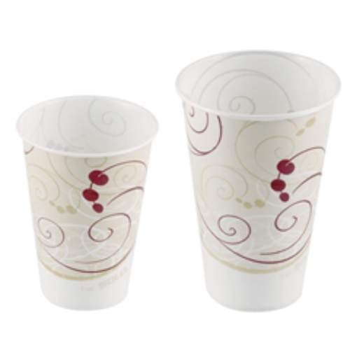 SOLO RW16-J8000 Symphony Design Wax Coat - Waxed Coated Paper Cold Cups Shopping Results
