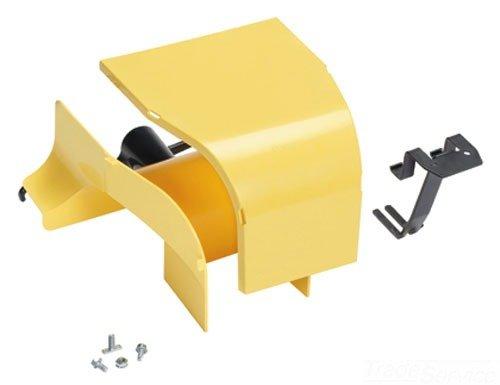Panduit FRSPJ4X4YL Spill Over Junction, Yellow