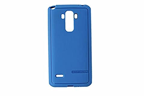 Body Glove Satin Suit Up Soft Case for LG G Stylo - Blue (Body Glove Suit Up Phone Cases)