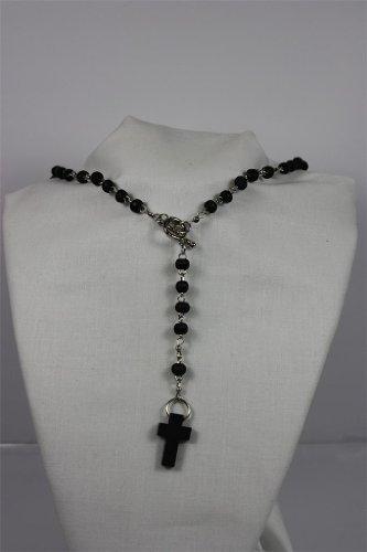 OFA Products Chapelet en bois avec croix pour homme et femme