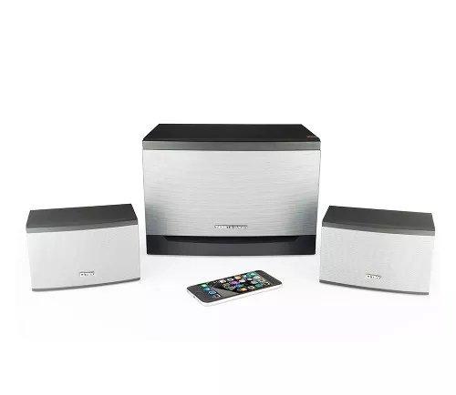 Thonet and Vander Laut 2.1 Surround Sound Speakers (300 Peak Watt) Multimedia Home or Office Theater Speaker System - Subwoofer/Enhanced Bass/Dual RCA Stereo (German Engineered) Wood Enclosed