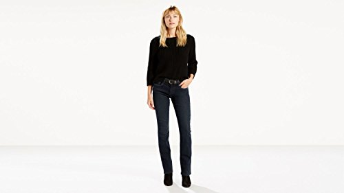 Levi's Women's 505 Straight Jeans, Immersion, 27 (US 4) L
