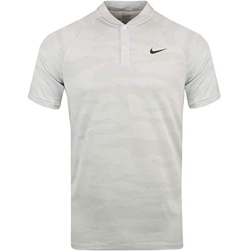 Nike Golf TW Tiger Woods Vapor Zonal Cooling Camo Polo 932390 (Large, White)