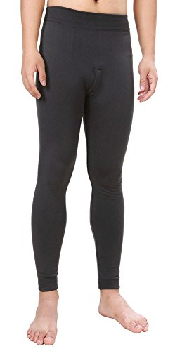 insulated cotton leggings - 8