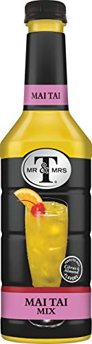 - Mr & Mrs T Mai Tai Mix, 1 Liter Bottle (Pack of 6)