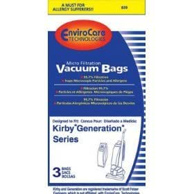 Allied National #839 3PK Kirby Allergy Bag by EnviroCare
