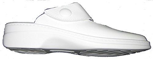 Algemare 5948-1111 mujer clogs & mules de plantillas sueltos blanco