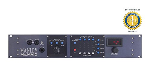 Manley MicMAID 4x4 Mic/Micpre Matrix-Switcher with 1 Year Free Extended Warranty (Mastering Matrices compare prices)