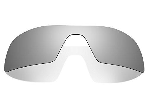 Brand New 1.5mm Littlebird4 Polarized Replacement Lenses for Oakley Oil Rig Sunglasses (Silver - Oil Sunglasses Rig