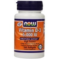 Now Vitamin D-3 5,000 IU, 240 Softgels (Pack of 2) Thank you for using our service by GIP Super Market