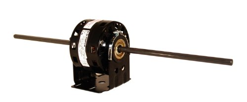 A.O. Smith DBL4404 1/10 HP, 1550 RPM, 3 Speed, 115 Volts 3.5-1.7-1.4 Amps, 42Y Frame, sleeve Bearing Direct Drive Blower Motor ()