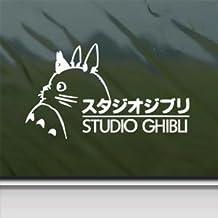Totoro White Sticker Decal Ghibli Laputa Jdm Anime White Car Window Wall Macbook Notebook Laptop Sticker Decal