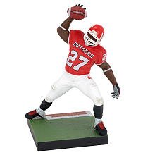 - McFarlane Toys NCAA COLLEGE Football Sports Picks Series 3 Action Figure Ray Rice (Rutgers Scarlet Knights)
