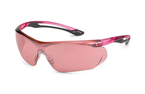 GTY37GY11 ParallaxTM 37GY11 Pink Temple, Gray Flex, Pink Mirror Lens (5BX) by PARALLAX