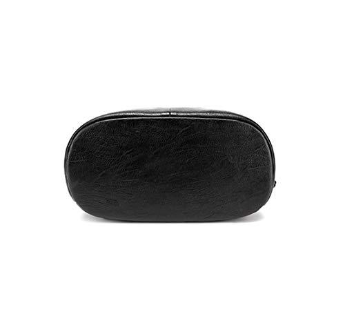 da82b605a Tipo Backpack Grandes Sólido Casual Resistente Viajes Diario Color Bolsas  Para Waterproof Xiuy Cuero Fashion Negro ...