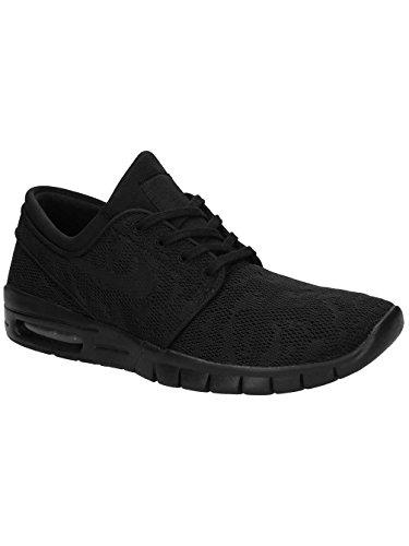 Nike Herren Stefan Janoski Max Sneaker, Orange, 47.5 EU Black (Schwarz / Schwarz-Anthrazit-Schwarz)