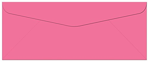 100 Hot Pink #10 Envelopes - 9.5
