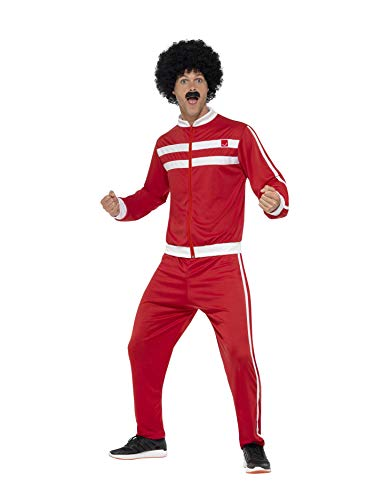 Scouser Tracksuit Red & White With Jacket And Trousers -
