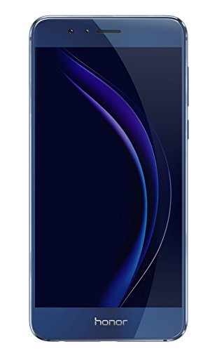 Huawei Honor 8 32GB GSM Unlocked Cell Phone w/ 12MP Dual Camera – Sapphire Blue