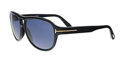 Tom Ford Sunglasses TF 446 Dylan 01V Black - Outlets Toms