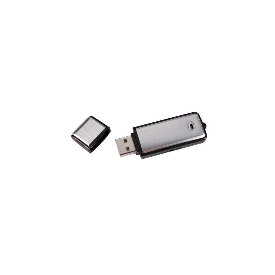 USB Flash Drive w/ Built In Audio Recorder