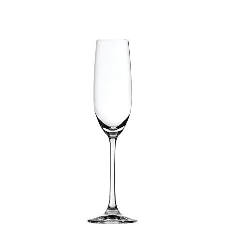 Spiegelau Salute Sparkling Wine Crystal Champagne Flute Set of 4