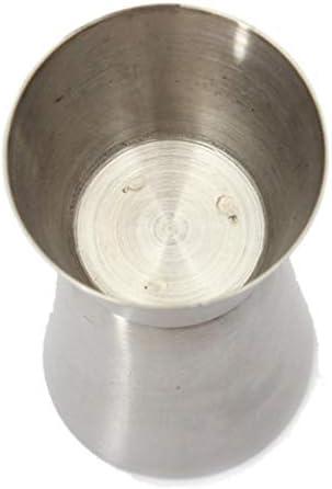 PiniceCore 20-50 ml 2-End Jigger Schuss Measure Cup Cocktail-Getränk-Wein Shaker Edelstahl Bar