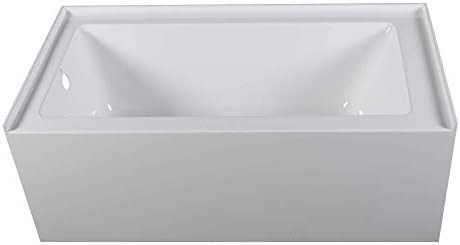 Fine Fixtures Acrylic/Fiberglass Soaking Bathtub