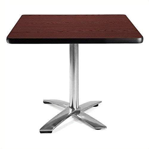 Stack Economy Chair - OFM KFT36SQ-MHGY Square Folding Multi-Purpose Table, 36