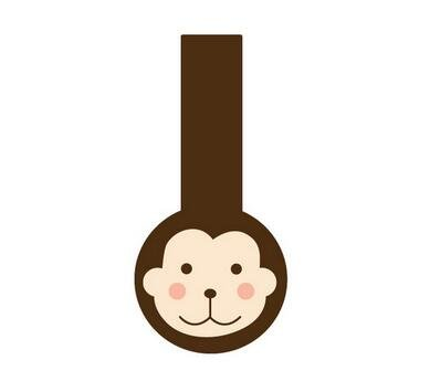 HEMALL 60pcs Monkey Lollipop Design Handmade Seal Adhesive Sticker For Tins Boxes Bags DIY Packaging Label Sealing Party Decoration (Lollipop Tin)