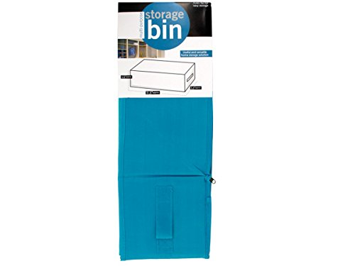 bulk buys OF661 Multi-Purpose Fabric Storage Bin, Grey,Blue,Pink Kole Imports