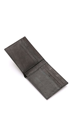 Billfold Spade Slim Jack Men's Varick Wallet Black Spade Men's Jack Varick Leather qwzOta