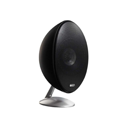 KEF E301 Satellite Speakers - Black/Satin by KEF