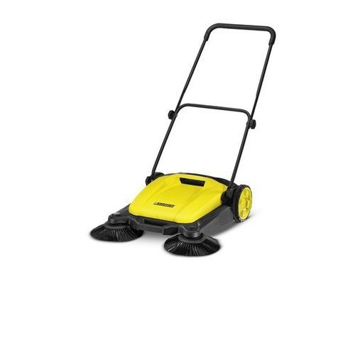 karcher-s650-outdoor-push-sweeper-patio-driveway-cleaner-yellow-black
