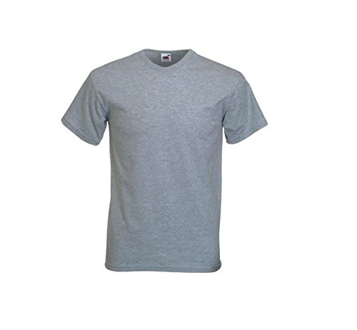 Fruit of the Loom SS021M - Camiseta para hombre Grey (Charcoal Grey)