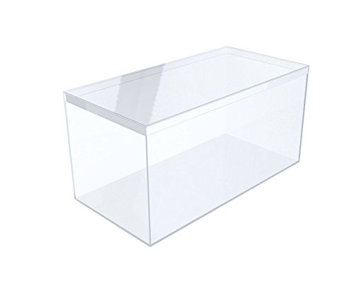 Gary Plastic Packaging Clear Rigid Plastic Box, 8