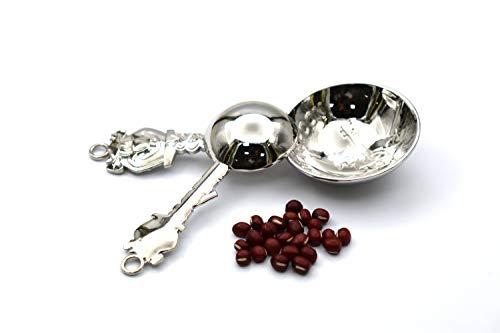 Measuring Spoons Set 4 Piece - Set Creatures Measuring Spoon Four Size, silver (E-Gita Bear)