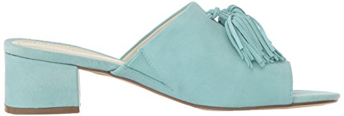 cheap price wholesale price clearance with paypal Anne Klein Women's Salome Suede Heeled Sandal Light Blue cheap eastbay TT9Rq8JWVd