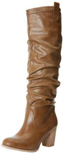 MIA Women's Evergreenn Knee-High Boot,Tan Antique,8.5 M US